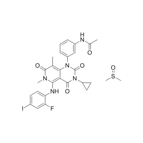 Trametinib Dimethyl Sulfoxide [1187431-43-1] Generon