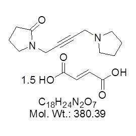 Oxotremorine sesquifumarate