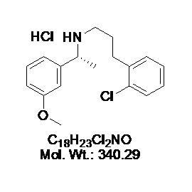 Tecalcet hydrochloride (R-568)