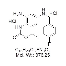 Retigabine Dihydrochloride