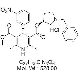 Barnidipine (Mepirodipine) Hydrochloride