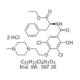 JTE-607 dihydrochloride