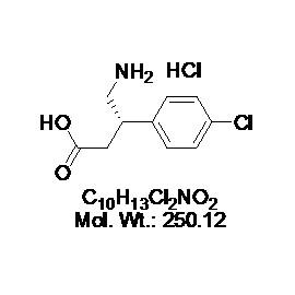 (S)-Baclofen hydrochloride