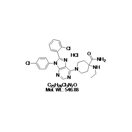 Otenabant hydrochloride