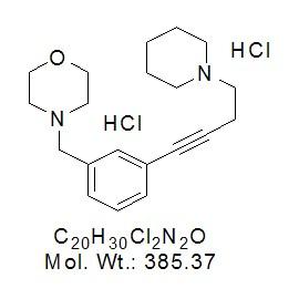 JNJ-10181457 dihydrochloride