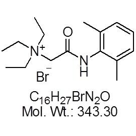 Lidocaine N-ethyl bromide