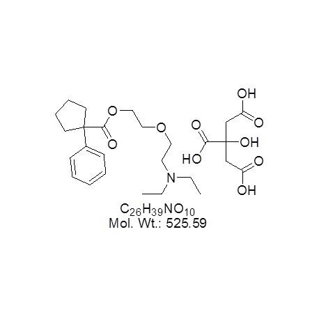 Carbetapentane Citrate..(Pentoxyverine citrate)