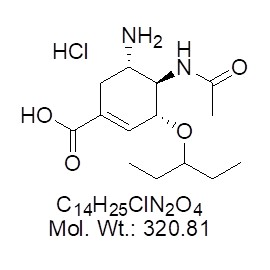 Oseltamivir carboxylate Hydrochloride